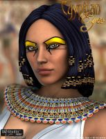 Egyptian Eyes by LeAndraDawn