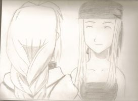 Ed and Winry 2 by fullmetaladdict1101