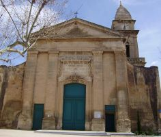 SAINT PIERRE CHURCH IN FONTVIEILLE by isabelle13280