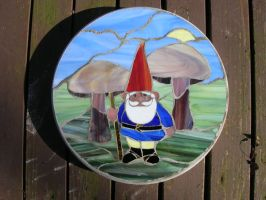 Stoned Gnome by LCheek
