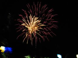 Chase Field Fireworks 2 by BigMac1212