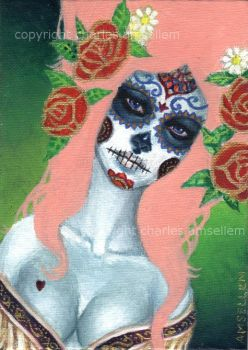 Day Of The Dead No 2 by charlesartist