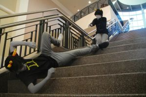 Warned You About The Stairs... by OMJcosplay