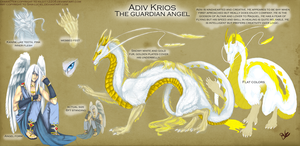 refsheet commission: Adiv by Serpentwined