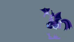 Lunar Guard Minimalistic Wallpaper -Batguard- by Kitana-Coldfire