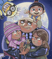 despicable me by Leen-galeas
