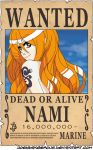 WANTED Dead or Alive - Nami by JoeyDangerous