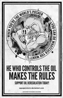 Control The Oil - Make The Rules by OpPaperStorm