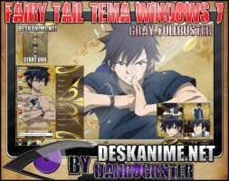 Gray Fullbuster Theme Windows 7 by Danrockster