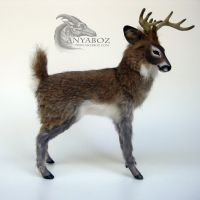 Henson the Deer Room Guardian by AnyaBoz