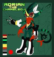 Adrian The Chameleon Ref REVAMP by TurquoiseWolfStar7