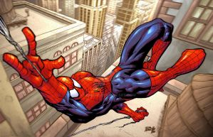 Spiderman Recolored by Fpeniche