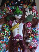 ao no exorcist amaimon (clay), his world. close up by so1what1i1am1myself