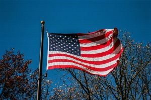 Flag of the USA by PLutonius