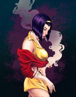 Faye Valentine by Ladyghoul