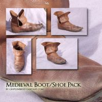 Medieval Boot Shoe stock by Georgina-Gibson