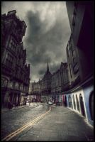 Edinburgh street II by zardo