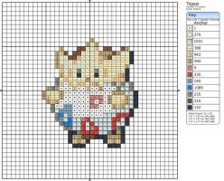 175 - Togepi by Makibird-Stitching