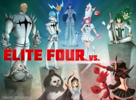 Kill la Kill - Elite Four by lilythescorpio