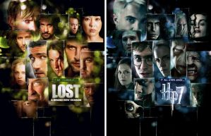 'HP7' - 'LOST' comparison by AndrewSS7