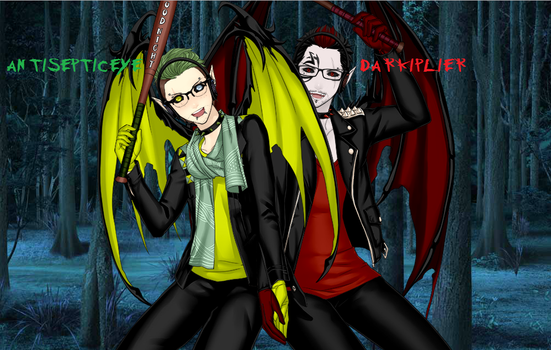 AntiSepticeye and DarkIplier by Quilava2501