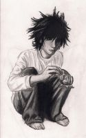 L Lawliet by paranoiaPRODIGY