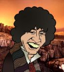 Doctor Tom Baker by UnknownX
