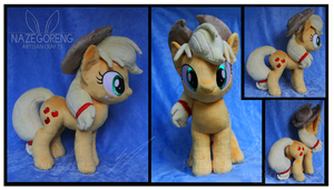 Trade: Applejack Custom Plush by Nazegoreng