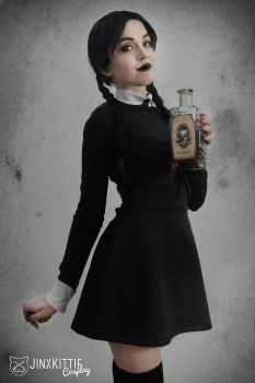 WEDNESDAY ADDAMS IV - THE ADDAMS FAMILY by JinxKittieCosplay