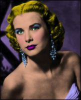 Grace Kelly: Warhol by Mambalicious