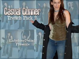 Casual Gunner Trench PACK 2 by themuseslibrary