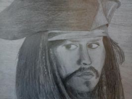 Johny Deep, Jack Sparrow by KiraChan55555