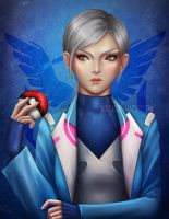 Team Mystic - Blanche by Nindei