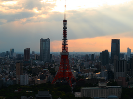 Tokyo Tower by L-Spiro