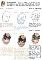 Tutorial - Basic Face by Juggertha