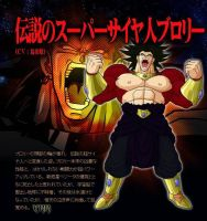 Broly SS4 by arab30002