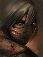 ninja (speed paint) by wizyakuza