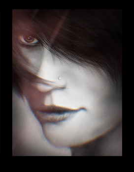 Another Face From Imagination Digital Painting by Dex91