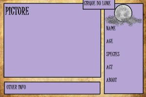 Cirque du Lune Application Sheet by ALA69