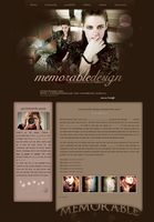 Memorable-Design.net Website by memorabledesign