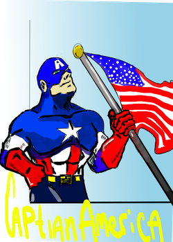 Captain America by GOLDmouseTRAP