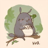 Totoro Forest by evikted