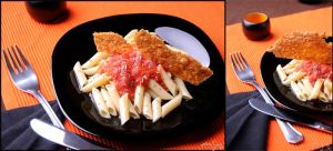 Macaroni with tomato by AruSung