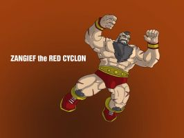 Zangief the Red Cyclon by jdcunard