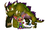 Dino Gnar! by Donnis