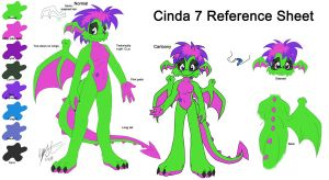 Anthro Cinda Reference by NeroStreet
