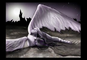Fallen Angel by zoziejane