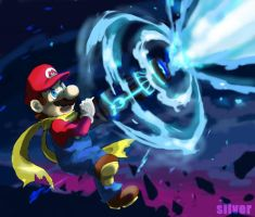 want to give Mario the weapon except for a hammer by silver151