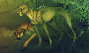 Comers in the Jungle by LiLaiRa