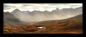 Sable Pass - Fall by tisbone